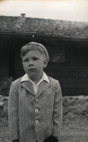 Eugene at an early age