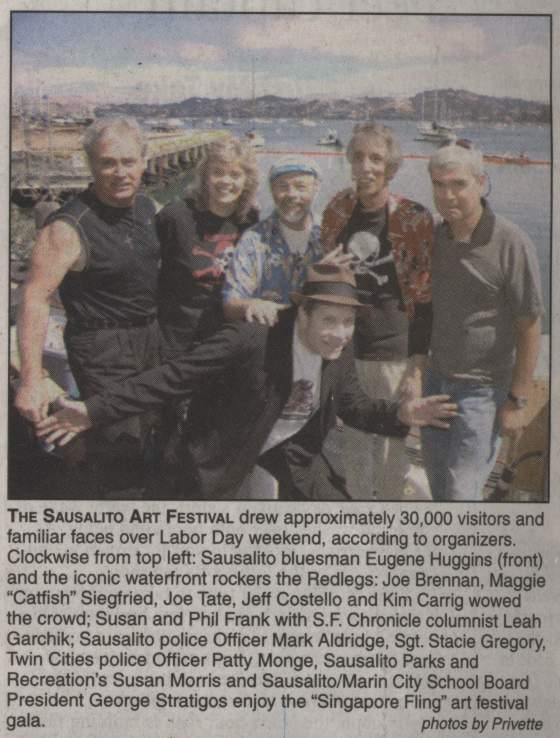 Sausalito Art Festival, RedLegs Reunion