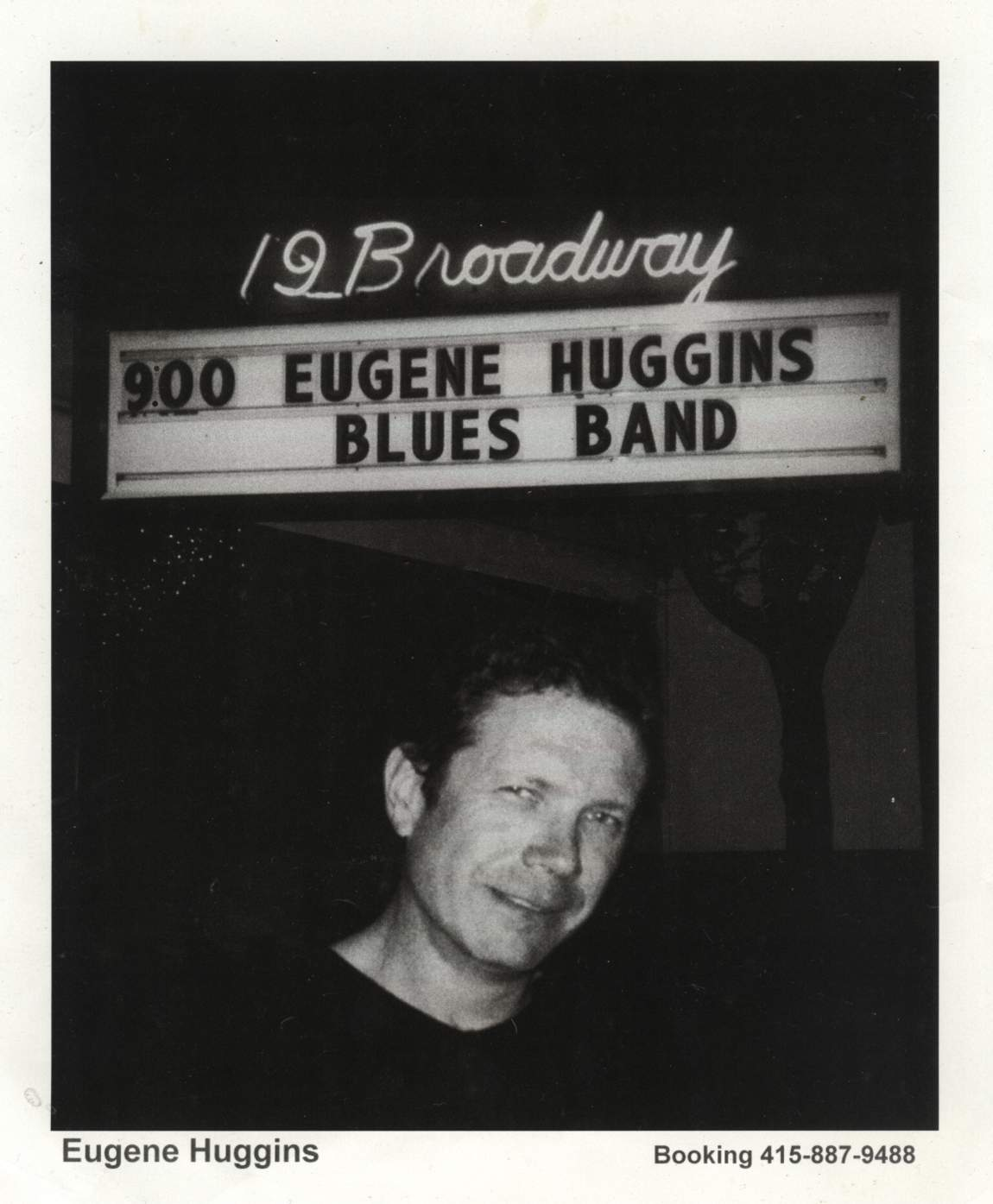 Eugene in front of 19 Broadway