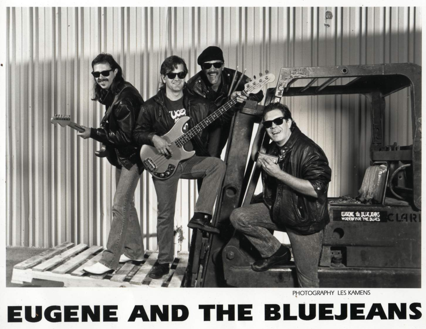 Eugene & The Bluejeans Poster