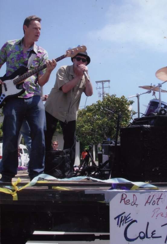 Chris Wilson & Me on Memorial Day Parade