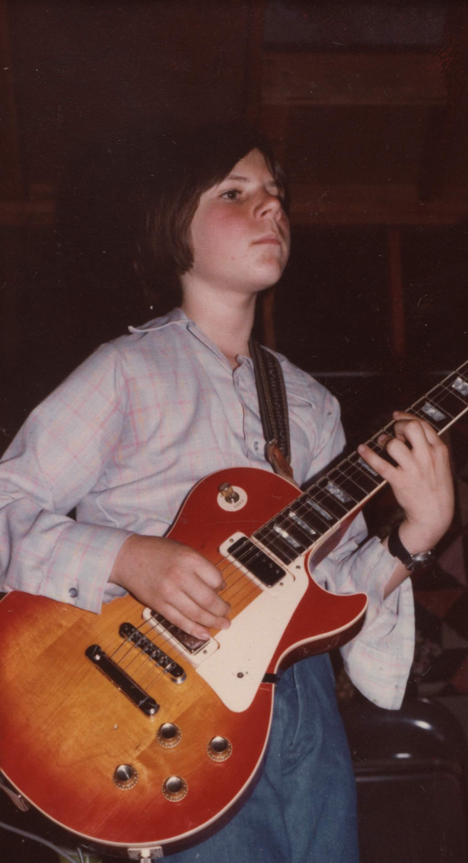 Ray Sayre Thirteen Years Old, Muir Beach, California, playing 'Mr. Magic'