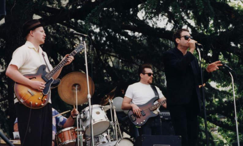 Caladonia Street Fair, Sausalito Rusty & Chubby