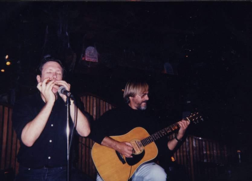 Chris Goddard & Me at Horizens in Sausalito, California